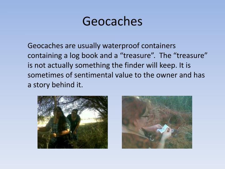 Geocaches