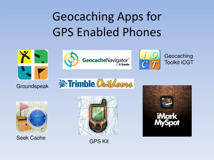 Geocaching Apps for