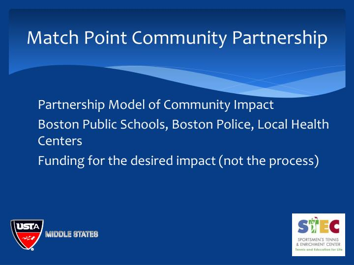 Match Point Community Partnership