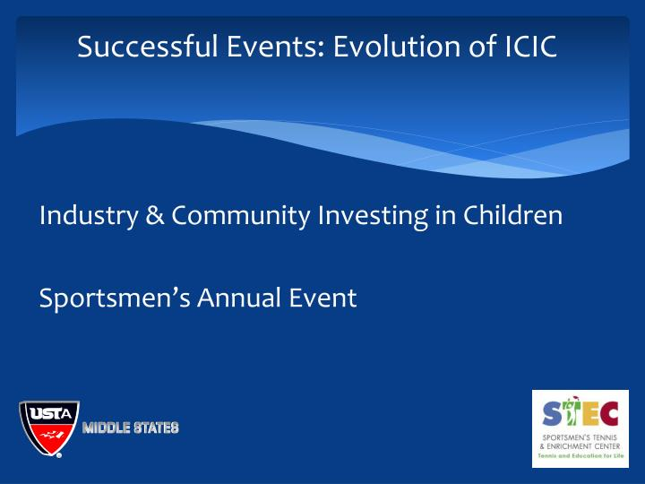 Successful Events: Evolution of ICIC
