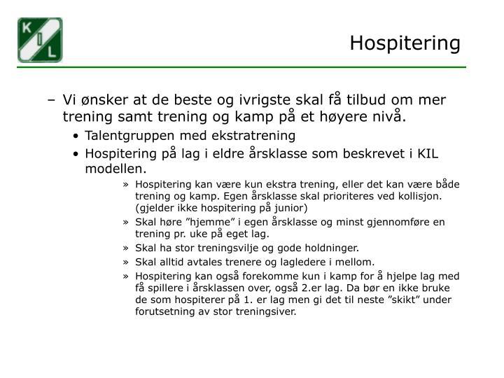 Hospitering