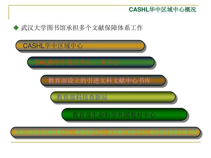 武汉大学图书馆承担多个文献保障体系工作