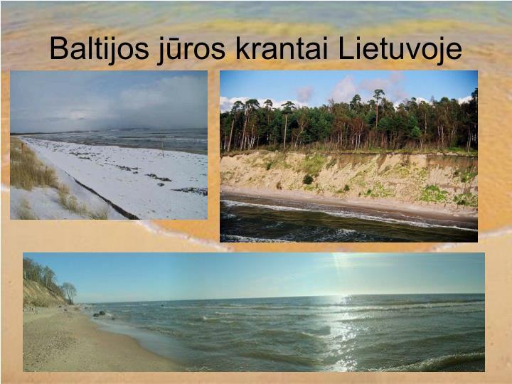 Baltijos jūros krantai Lietuvoje