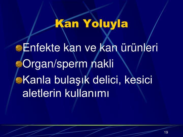 Kan Yoluyla