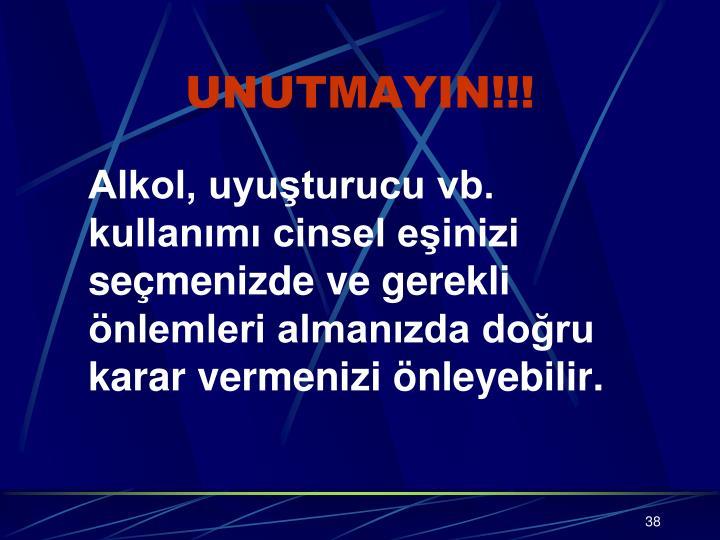 UNUTMAYIN!!!