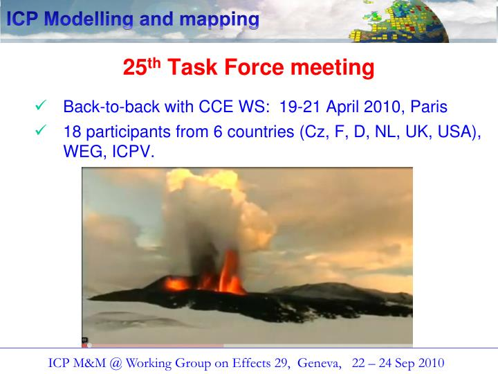25 th task force meeting