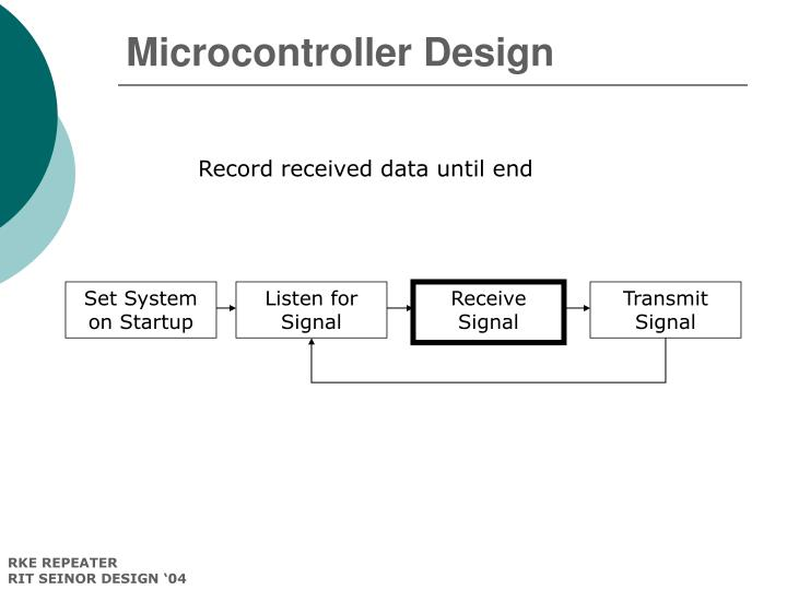 Microcontroller Design