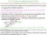 1 1 1 planar soft phonon modes in vo 2