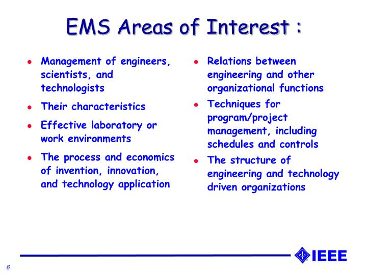 Management of engineers, scientists, and technologists