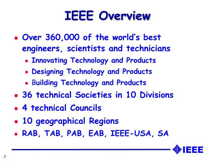 IEEE Overview