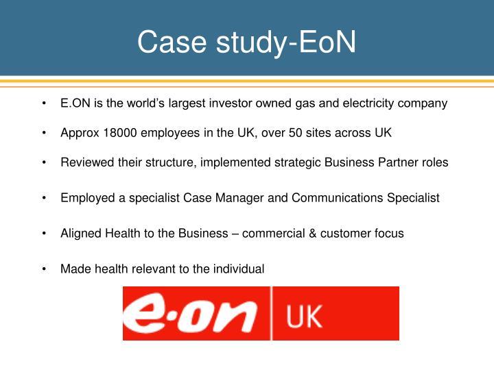 Case study-EoN