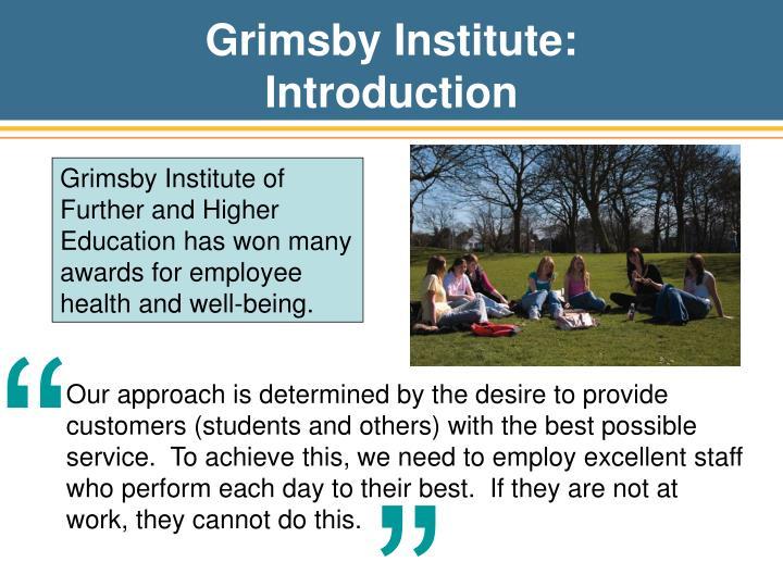 Grimsby Institute: