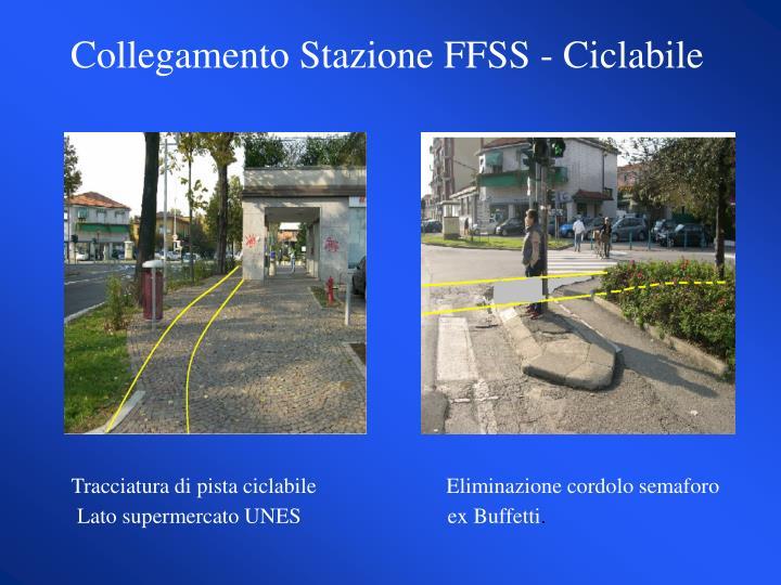 Collegamento Stazione FFSS - Ciclabile