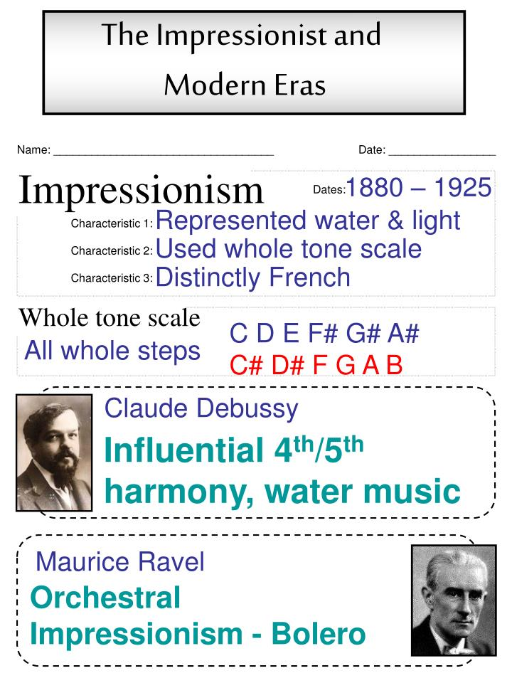The Impressionist and