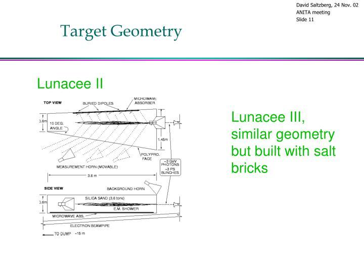 Target Geometry
