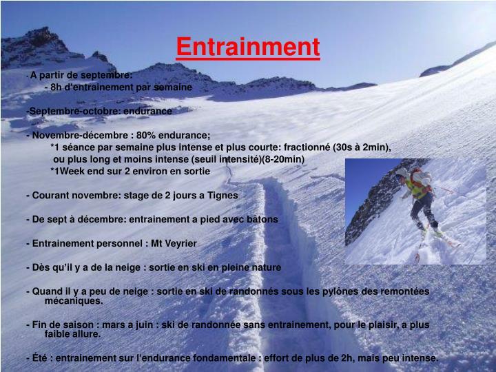 Entrainment