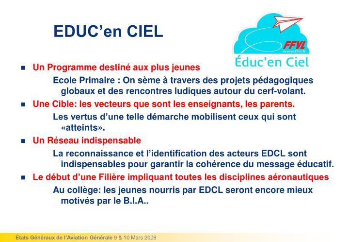 EDUC'en CIEL