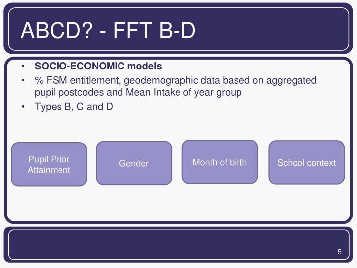ABCD? - FFT B-D