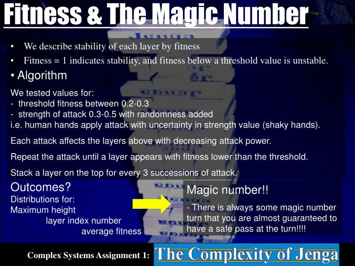 Fitness & The Magic Number