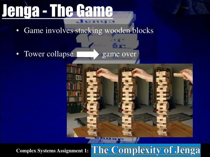 Jenga - The Game