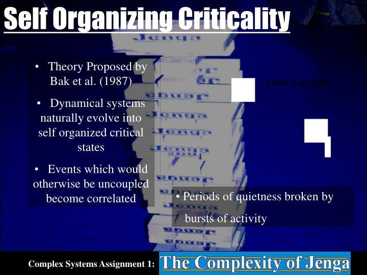 Self Organizing Criticality