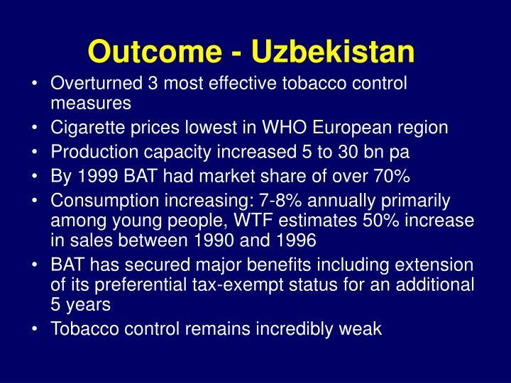 Outcome - Uzbekistan
