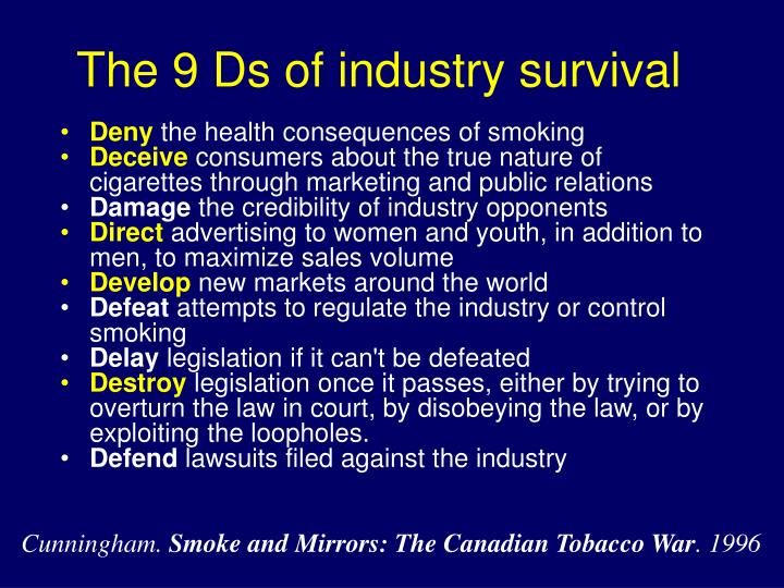 The 9 Ds of industry survival