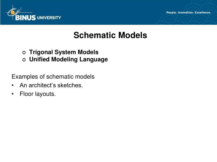 Schematic Models