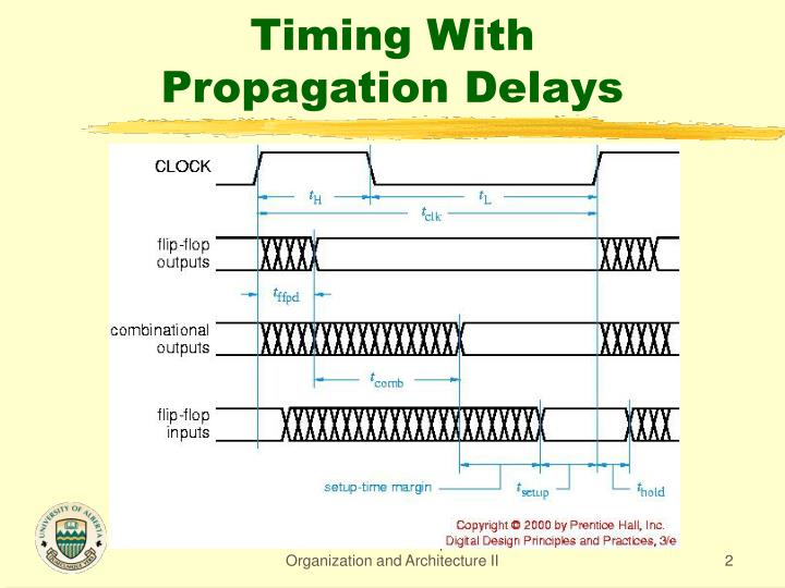 Timing with propagation delays