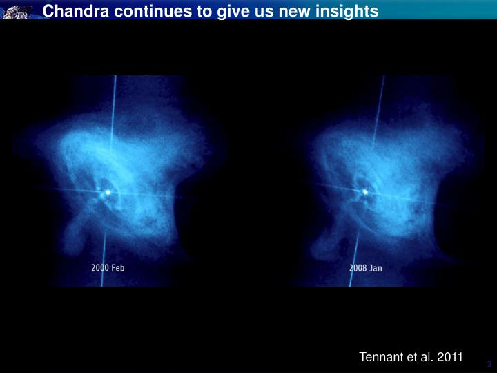 Chandra continues to give us new insights