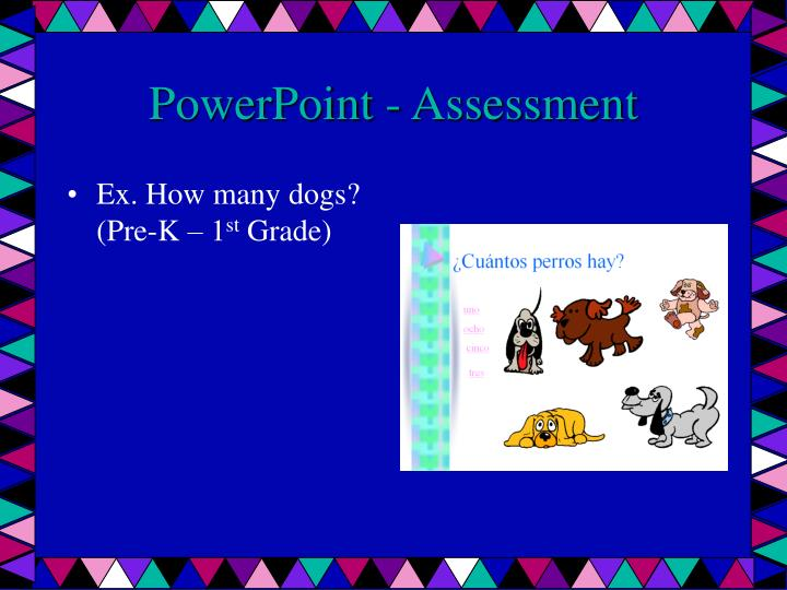 PowerPoint - Assessment