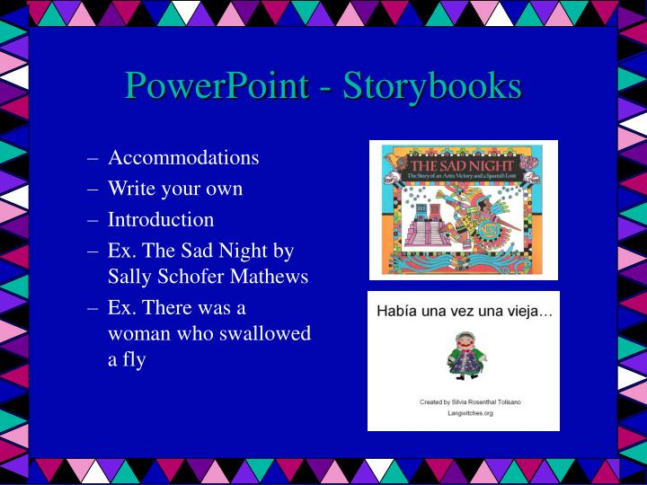 PowerPoint - Storybooks