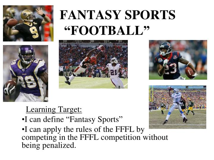 Fantasy sports football