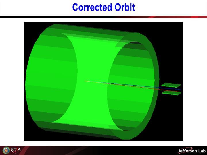 Corrected Orbit