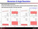 momentum angle resolution3