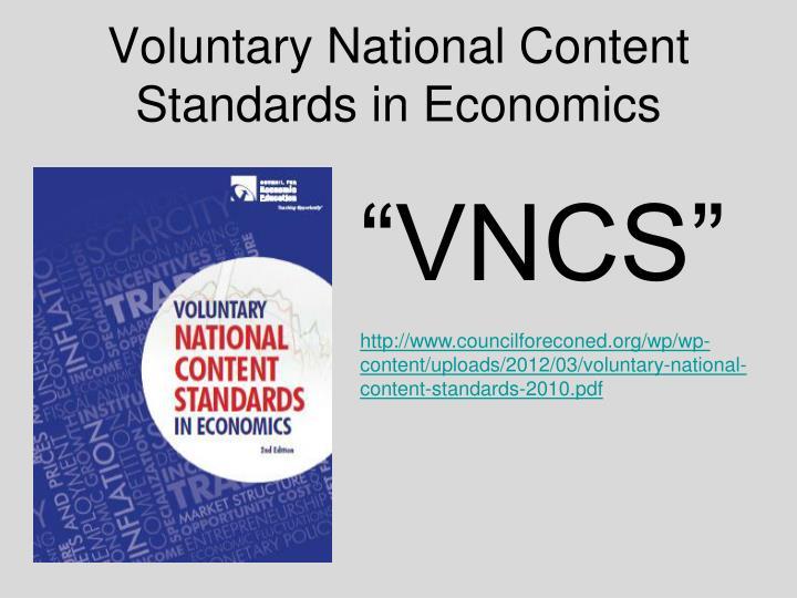 national quality standards 2012 pdf