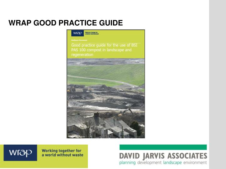 WRAP GOOD PRACTICE GUIDE