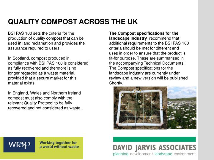 QUALITY COMPOST ACROSS THE UK