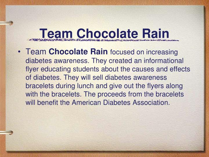 Team Chocolate Rain