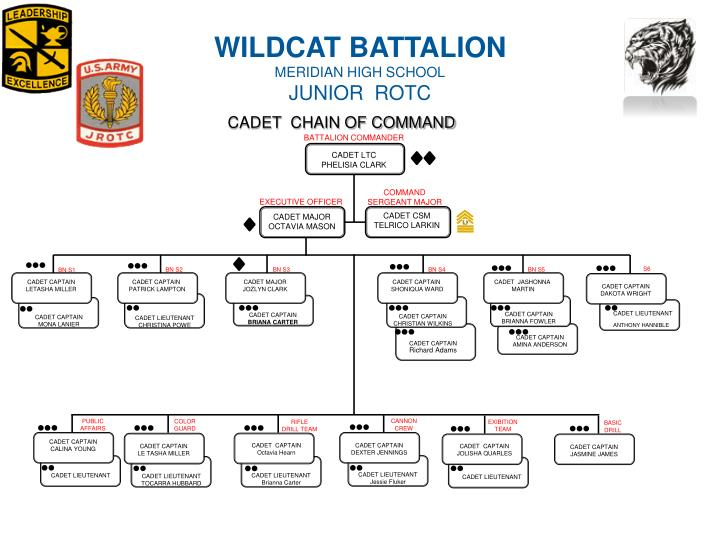 CADET  CHAIN OF COMMAND