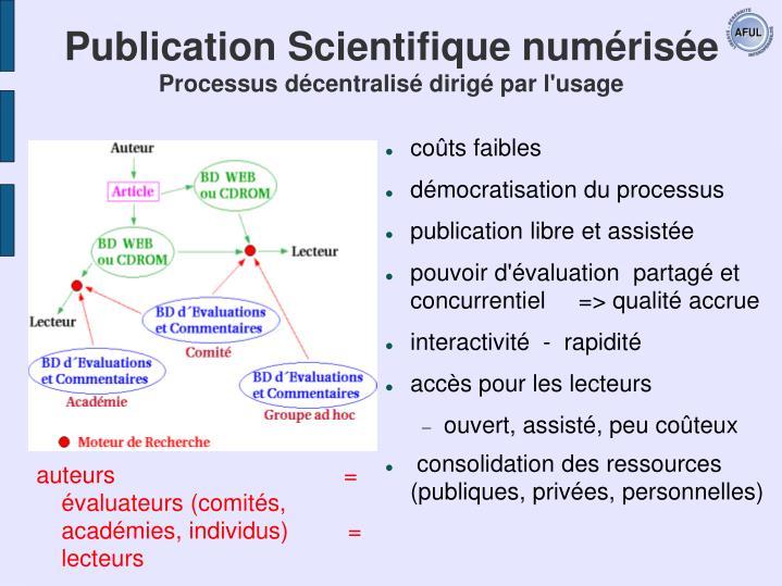 Publication Scientifique numérisée