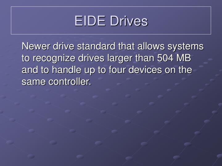 EIDE Drives