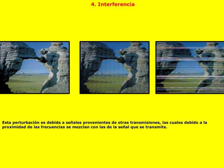 4. Interferencia