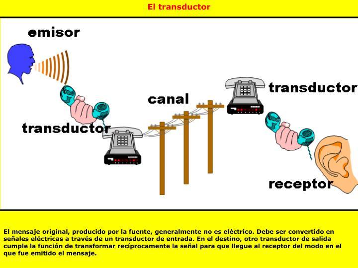 El transductor