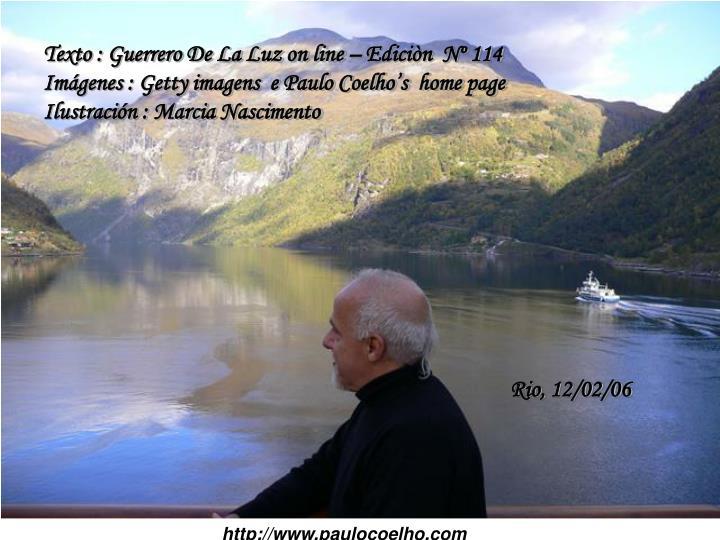 Texto : Guerrero De La Luz on line  Edicin  N 114