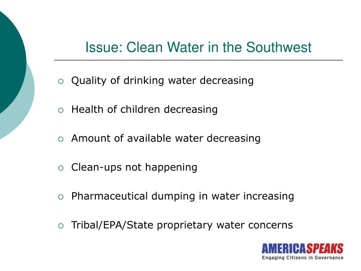 Issue: Clean Water in the Southwest