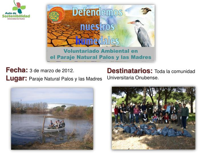 Voluntariado Ambiental en