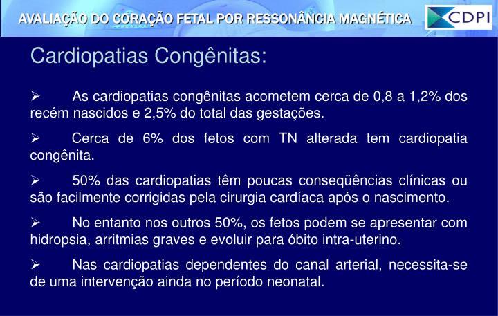 Cardiopatias Congênitas: