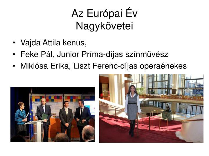 Az Európai Év