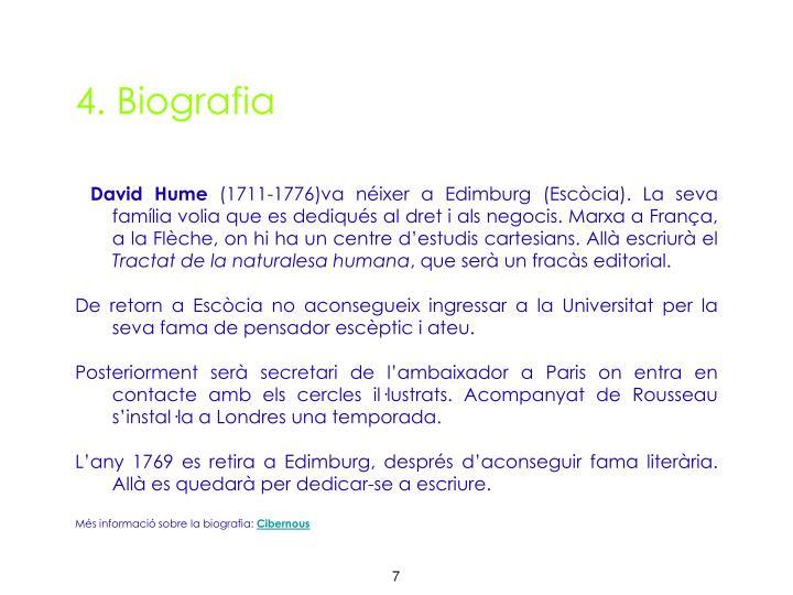 4. Biografia